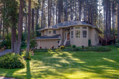 Flathead County Single Family Home Under Contract Taking Back-Up : 411 Chestnut Drive