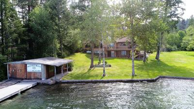 Polson Single Family Home Under Contract Taking Back-Up : 27683 Melita Island Road