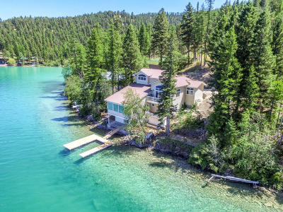 Flathead County Single Family Home For Sale: 4369 Ashley Lake Road