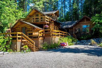 Flathead County Single Family Home For Sale: 185 Blaine Meadow Lane