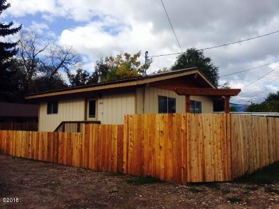 Missoula Single Family Home Under Contract Taking Back-Up : 2435 Mount Avenue