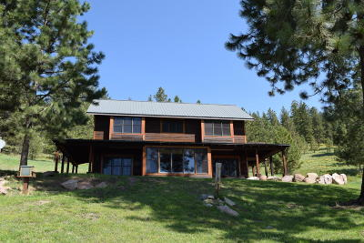 Missoula Single Family Home Under Contract Taking Back-Up : 3436 Butler View Lane Lane