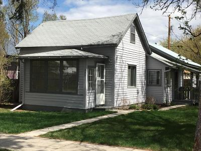 Kalispell Single Family Home Under Contract Taking Back-Up : 463 2nd Avenue West North