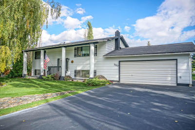 Kalispell Single Family Home Under Contract Taking Back-Up : 760 Shadow Lane