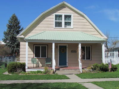Kalispell Single Family Home Under Contract Taking Back-Up : 620 3rd Avenue West