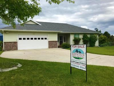 Single Family Home For Sale: 6565 Justin Court