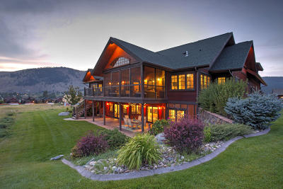 Missoula MT Single Family Home For Sale: $1,095,000