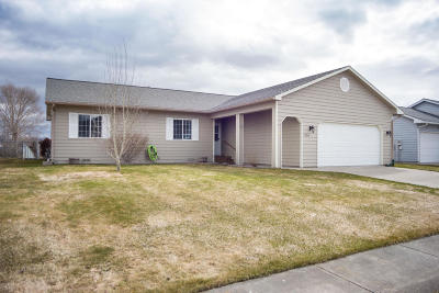 Kalispell Single Family Home Under Contract Taking Back-Up : 1859 North Belmar Drive