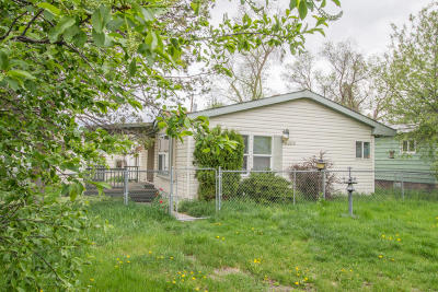 Missoula County Single Family Home Under Contract Taking Back-Up : 2206 West Kent Avenue