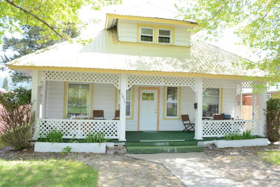 Lincoln County Single Family Home Under Contract Taking Back-Up : 1417 Louisiana Avenue