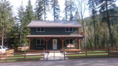 Flathead County Single Family Home For Sale: 1300 Blacktail Road