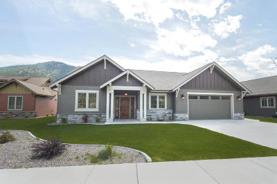 Missoula Single Family Home For Sale: 481 Cahill Rise