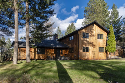 Missoula Single Family Home For Sale: 5000 Pattee Canyon Road