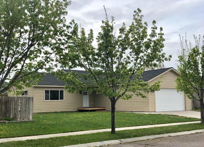 Kalispell Single Family Home Under Contract Taking Back-Up : 2358 Coot Court