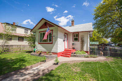 Kalispell Single Family Home Under Contract Taking Back-Up : 1145 3rd Avenue East