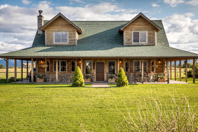 Kalispell Single Family Home For Sale: 772 Lone Coyote Trail