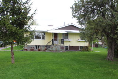 Kalispell Single Family Home Under Contract Taking Back-Up : 501 9th Avenue West