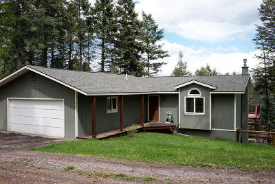 Flathead County Single Family Home Under Contract Taking Back-Up : 1930 Hodgson Road