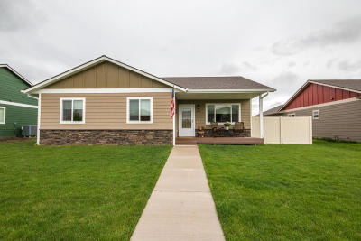 Kalispell Single Family Home Under Contract Taking Back-Up : 490 Triple Creek Drive