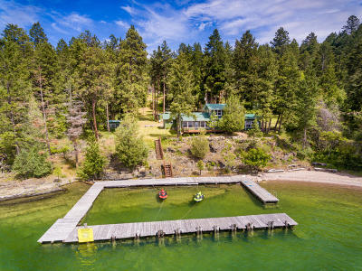 Polson Single Family Home Under Contract Taking Back-Up : 29977 Finley Point Lane