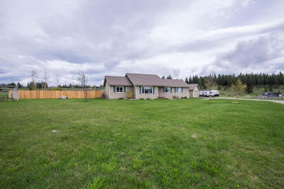 Flathead County Single Family Home For Sale: 245 Bald Rock Road