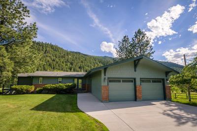 Missoula Single Family Home For Sale: 10365 Miller Creek Road