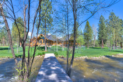 Victor Single Family Home For Sale: 2206 Middle Bear Creek Road