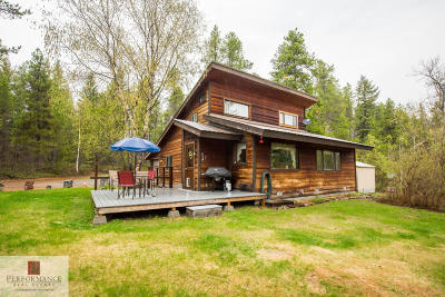 Flathead County Single Family Home For Sale: 765 Belton Stage