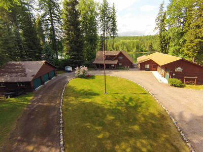 Flathead County Single Family Home For Sale: 1097 Mt Highway 209