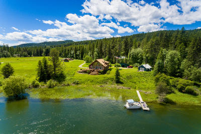 Flathead County Single Family Home For Sale: 121 Swan Retreat Road