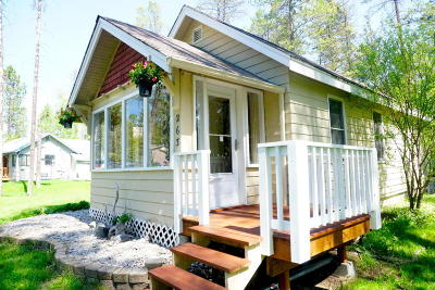 Whitefish Single Family Home Under Contract Taking Back-Up : 263 Lion Trail