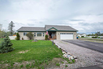 Kalispell Single Family Home Under Contract Taking Back-Up : 3239 Sweetgrass Lane