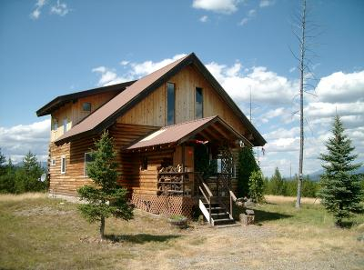 West Glacier, Polebridge Single Family Home For Sale: 1610 Paradise Ridge Trail