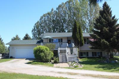 Flathead County Single Family Home Under Contract Taking Back-Up : 135 Clearview Place