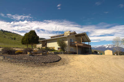 Hamilton Single Family Home For Sale: 1117 Skalkaho Hwy