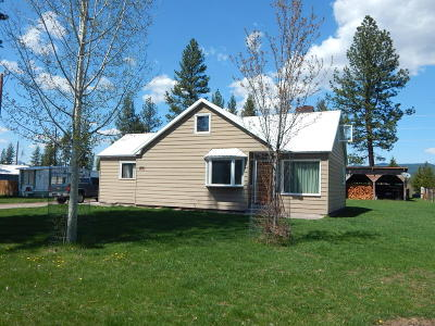 Seeley Lake MT Single Family Home For Sale: $189,000