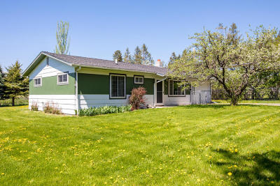 Whitefish Single Family Home Under Contract Taking Back-Up : 312 Cougar Trail