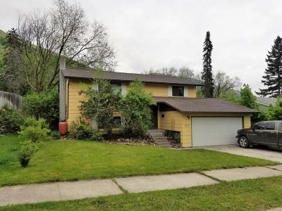 Missoula Single Family Home Under Contract Taking Back-Up : 1310 Jackson Street