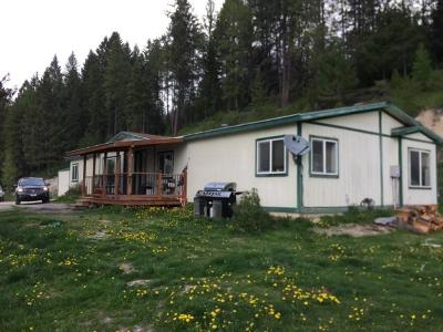 Whitefish Single Family Home Under Contract Taking Back-Up : 6680 Us-93