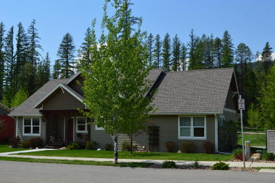 Whitefish Single Family Home For Sale: 210 Trestle Vew Court