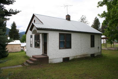 Sanders County Single Family Home Under Contract Taking Back-Up : 117 Woodland Street