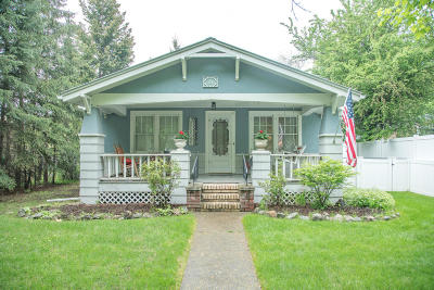 Kalispell Single Family Home Under Contract Taking Back-Up : 386 1st Avenue East North