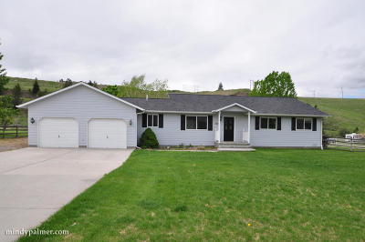 Missoula Single Family Home For Sale: 3429 Rodeo Road