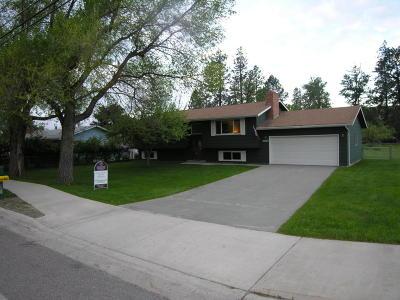 Missoula Single Family Home For Sale: 3017 Rattlesnake Drive