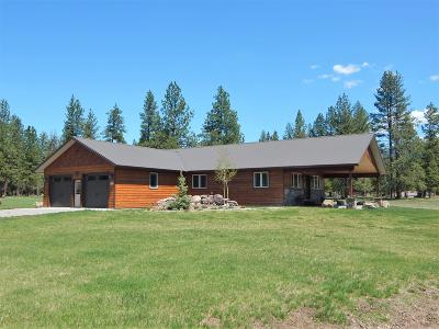 Seeley Lake MT Single Family Home For Sale: $339,000