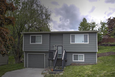 Missoula Single Family Home Under Contract Taking Back-Up : 6108 Mainview Drive