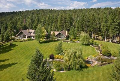 Flathead County Single Family Home For Sale: 38 Rocking Horse Ridge
