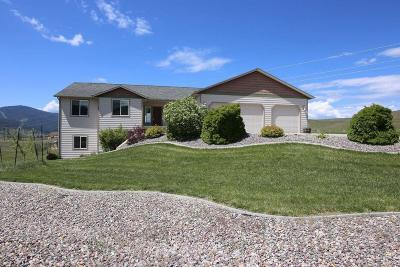 Missoula Single Family Home For Sale: 8545 Wise River Road