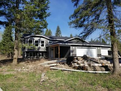 Columbia Falls Single Family Home Under Contract Taking Back-Up : 1194 Timber Ridge Court