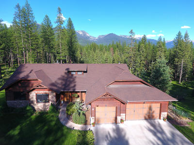 Bigfork Single Family Home For Sale: 128 Jewel Basin Ranch Road